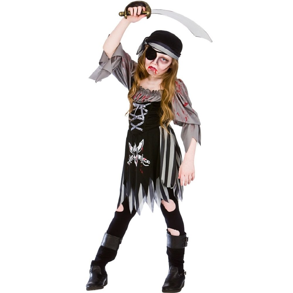 Mens Zombie Victorian Doctor Costume Halloween Fancy Dress Undead Horror Ghost