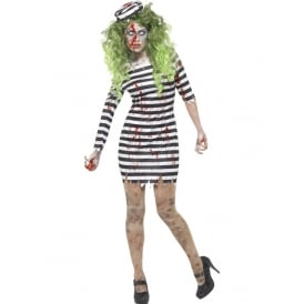 Zombie Jail Bird - Adult Costume