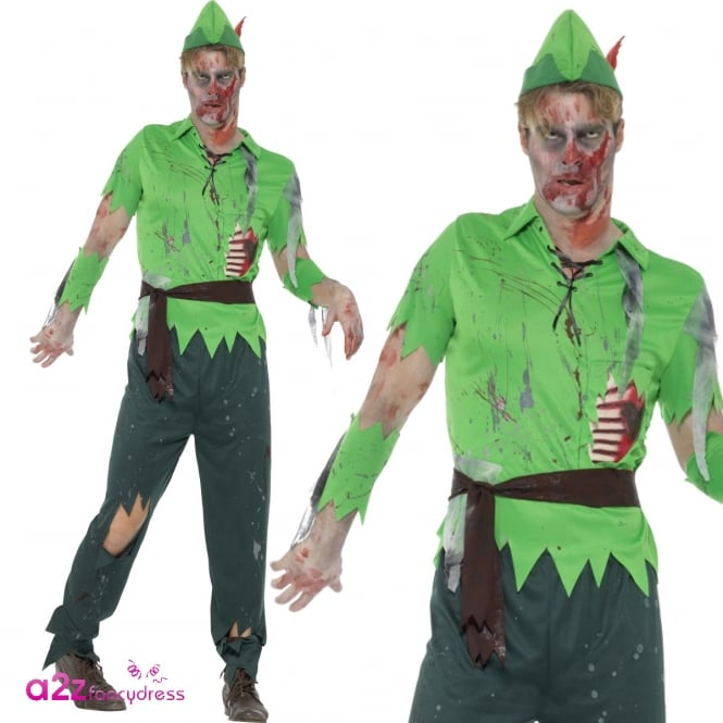Zombie Lost Boy - Adult Costume