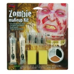 Zombie Peeling Skin Make Up Kit - Accessory