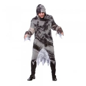 Zombie Robe With Hood - Adult Costume
