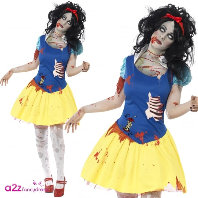 Zombie Snow Fright - Adult Costume
